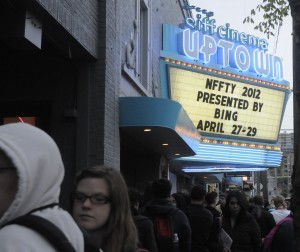 The SIFF Uptown Theater in downtown Seattle.