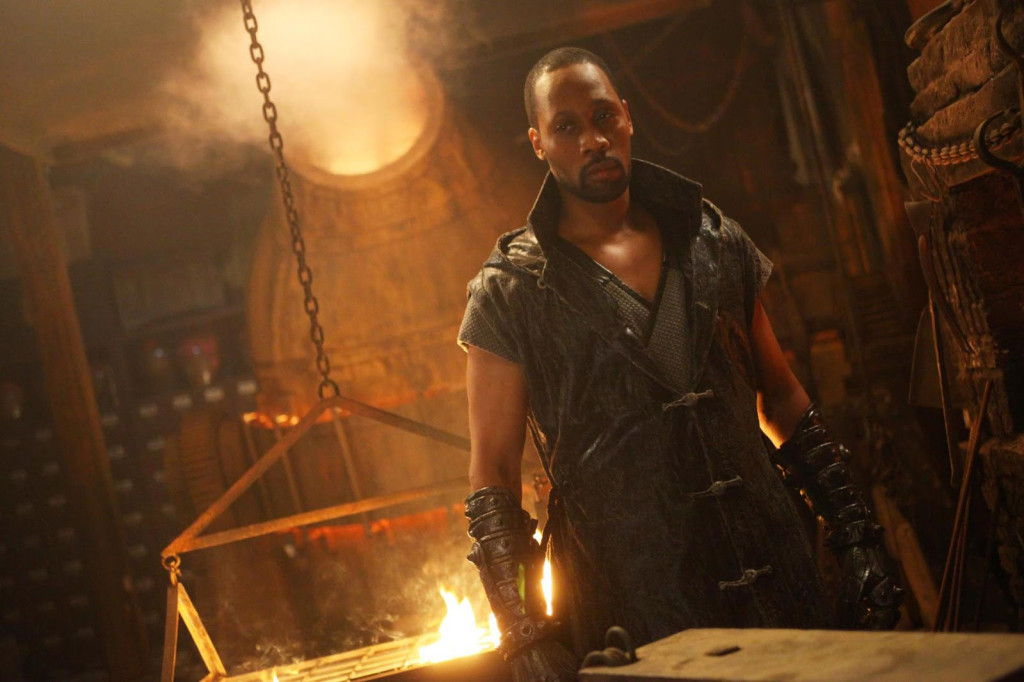 Still of RZA in The Man with the Iron Fists (Arcade Pictures).