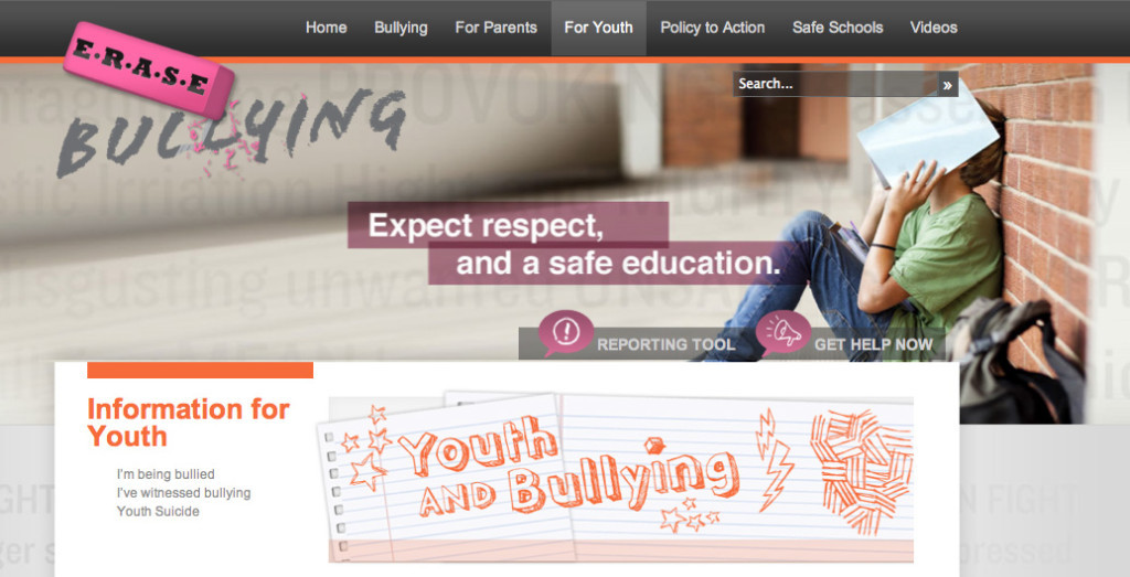 Image from www.erasebullying.ca