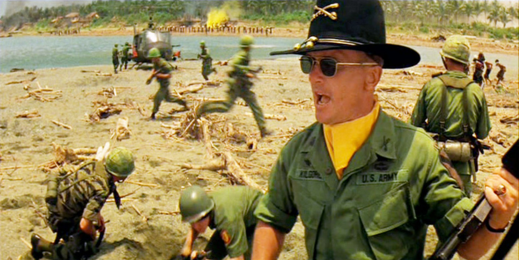 Robert Duvall in the 1979 classic Apocalypse Now.