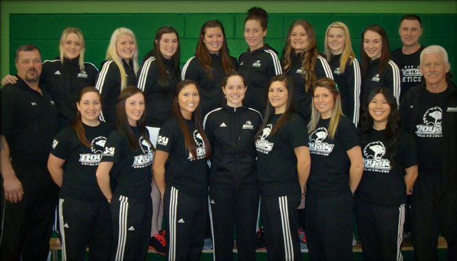 Image of Douglas College's 2012-2013 women's softball team via douglife.ca