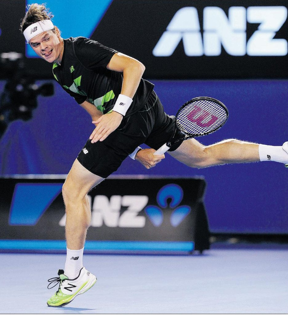 Image of Milos Raonic by The Associated Press, The Province