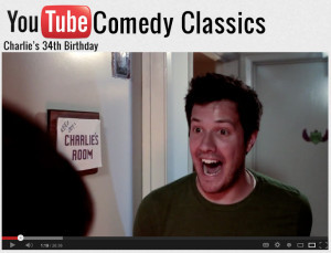 Youtube Comedy charlie's 34th birthday