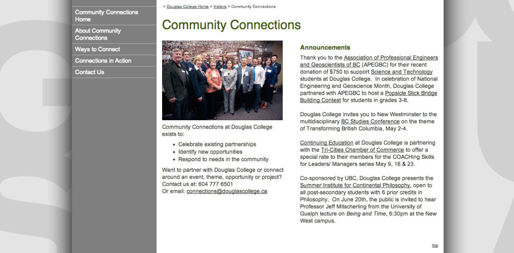 NEWS_Community connections