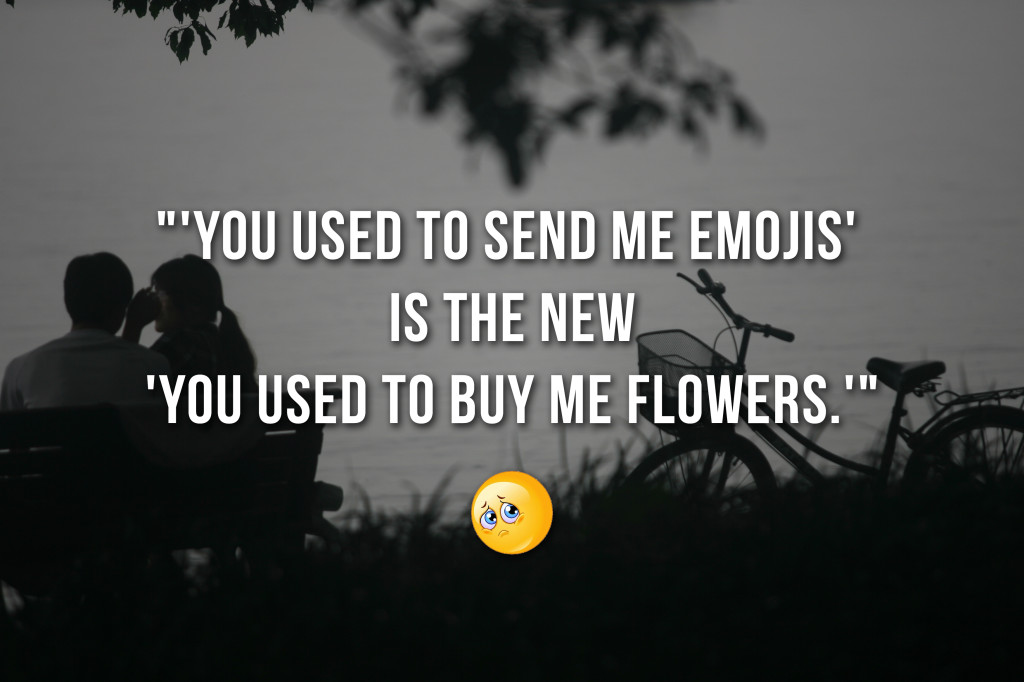 Humour_Used to buy me flowers