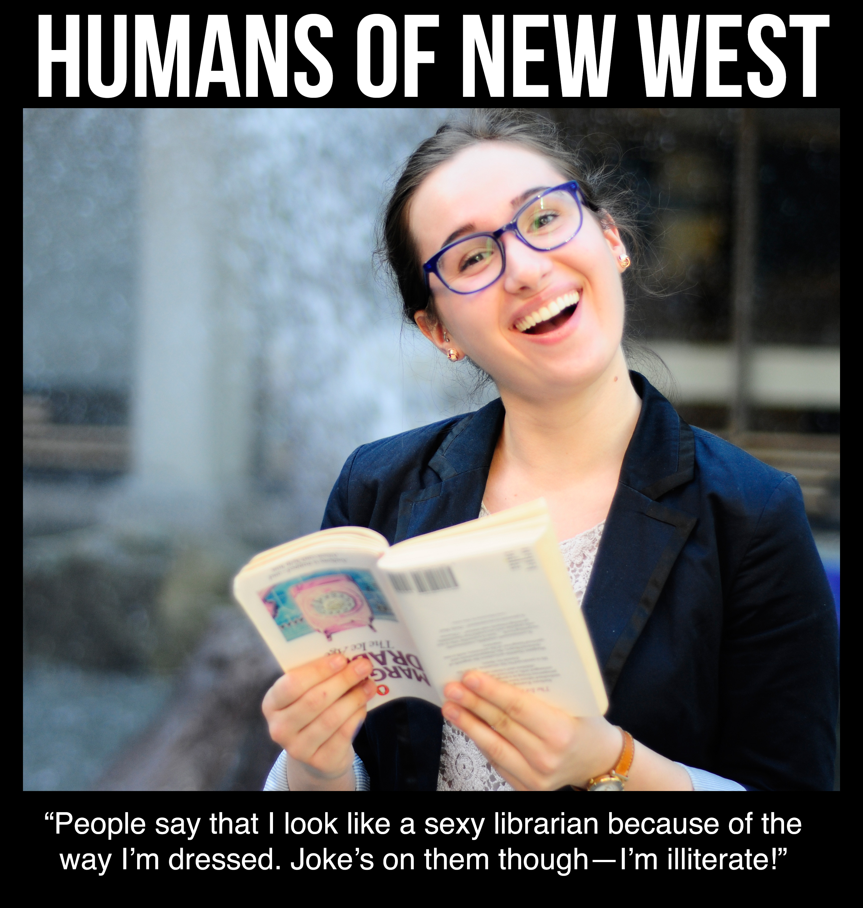 Humans of new west 1