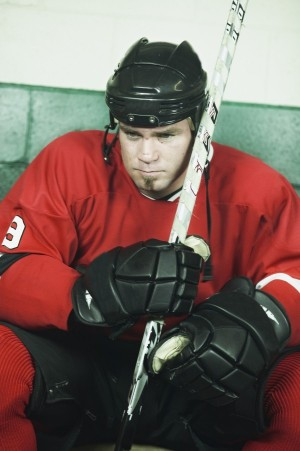 Humour Livewires hockey player