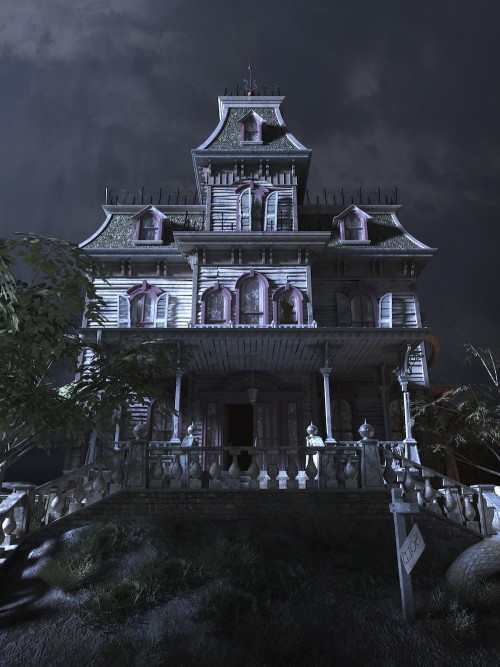 Humour Haunted house