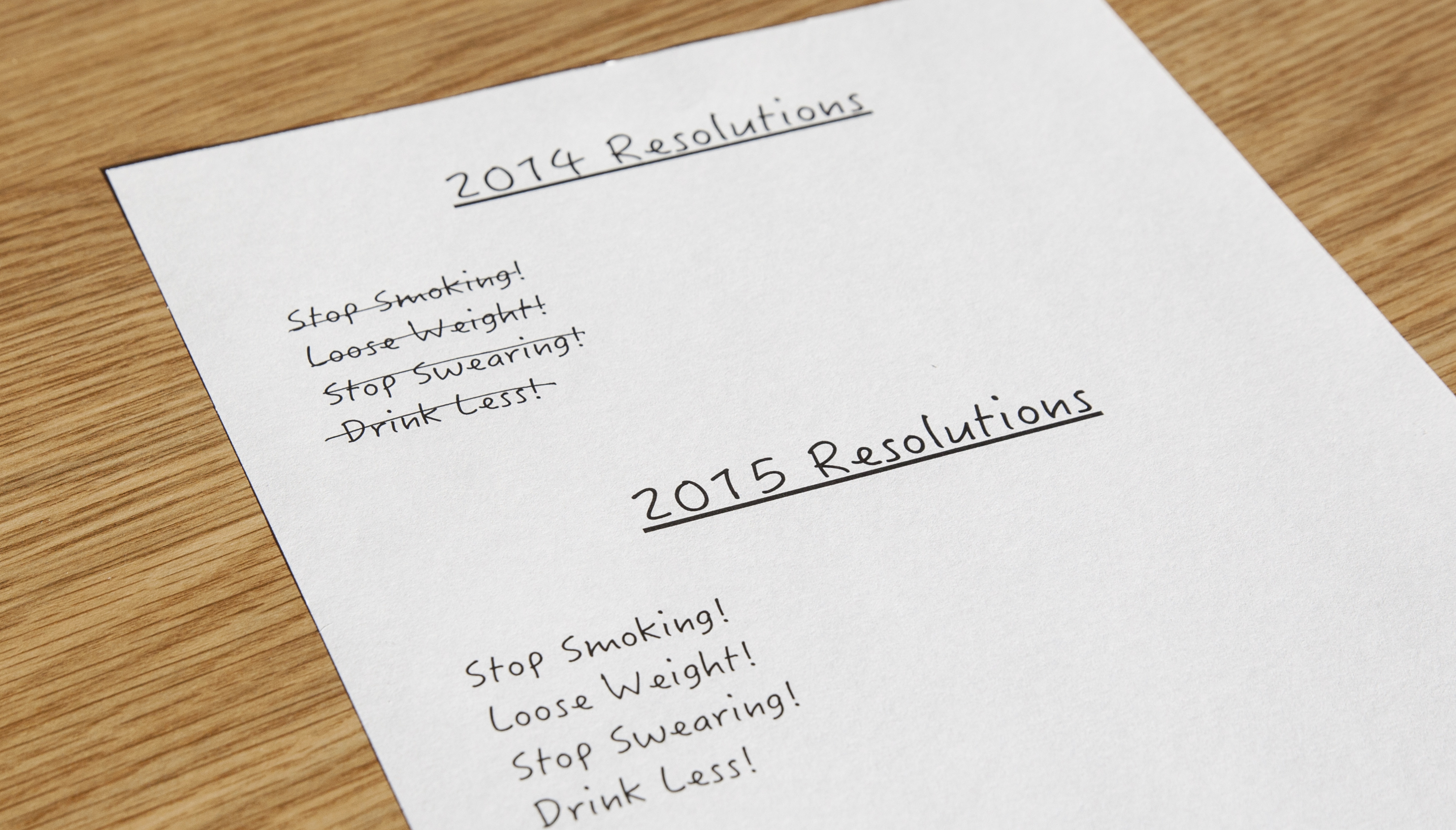 Opinions_new years resolutions