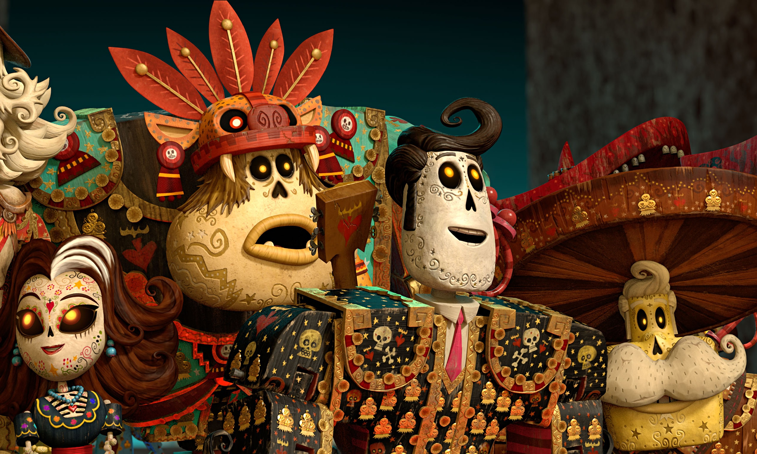 Screenshot from Book of Life