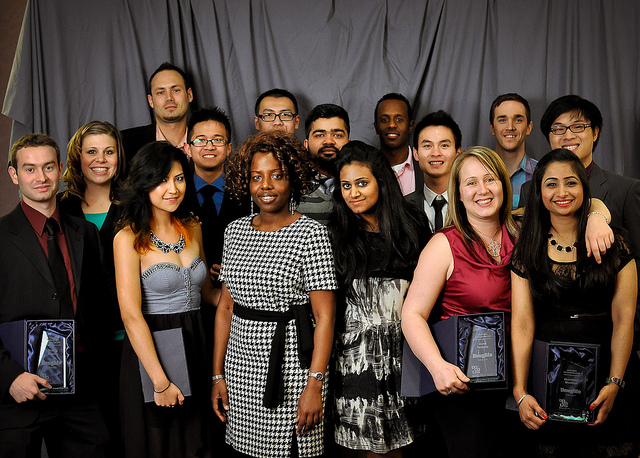 Photo from last years Student Engagement Awards via douglife.ca