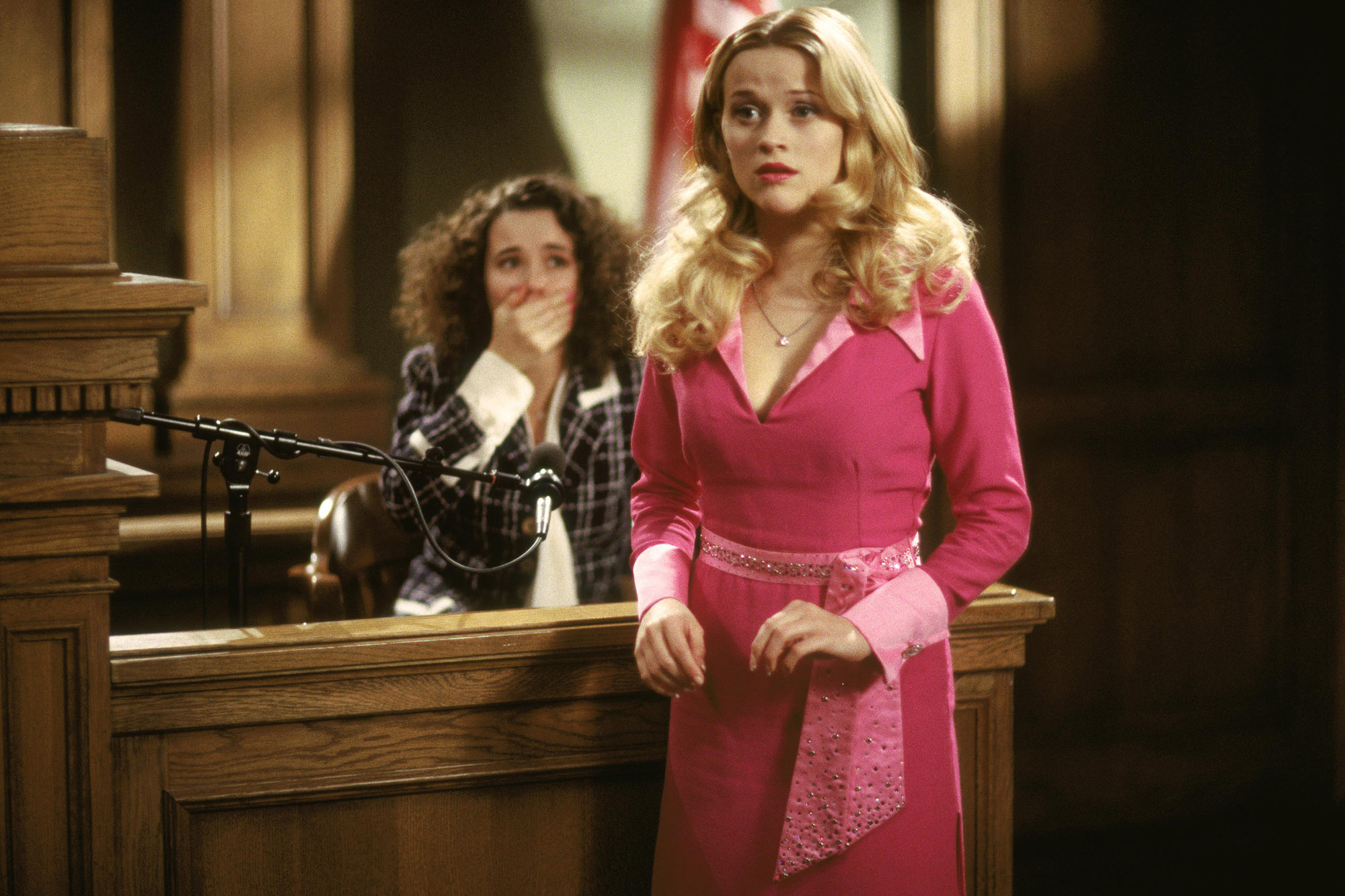 Screenshot of Reese Witherspoon in Legally Blonde