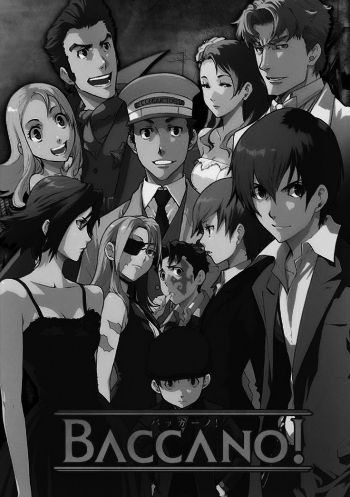Cover art for Baccano