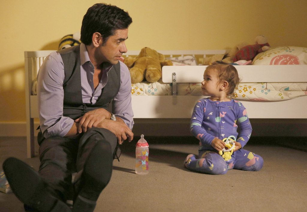 """John Stamos appears in a scene from """"Grandfathered,"""" via FOX"""