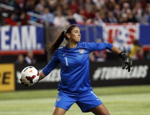 Photo of Hope Solo via deadspin.com