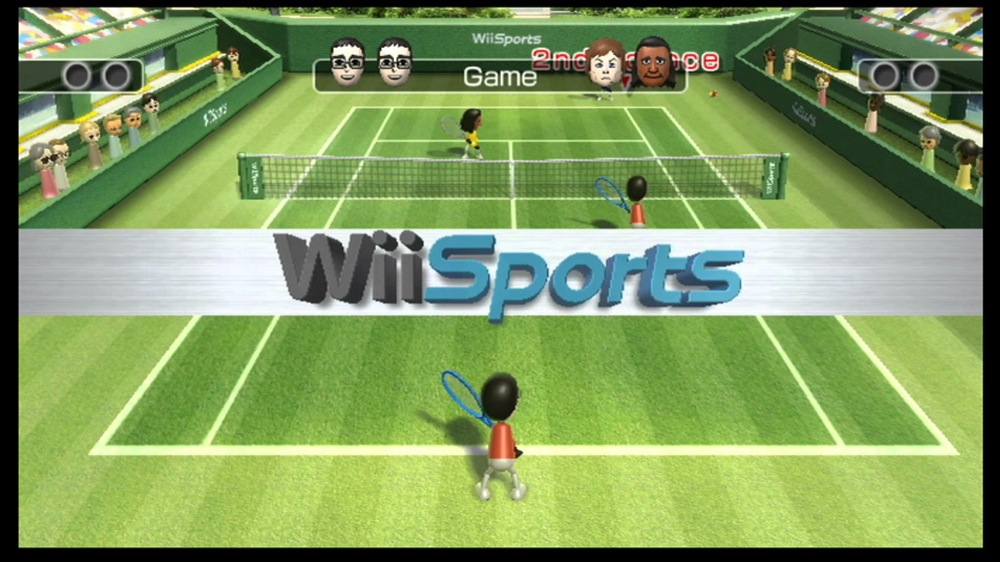 Very pity Wii tennis girls fucked