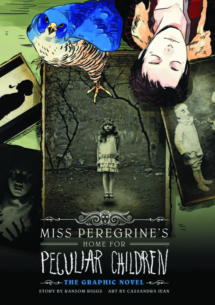 Cover for 'Miss Peregrine's Home for Peculiar Children'