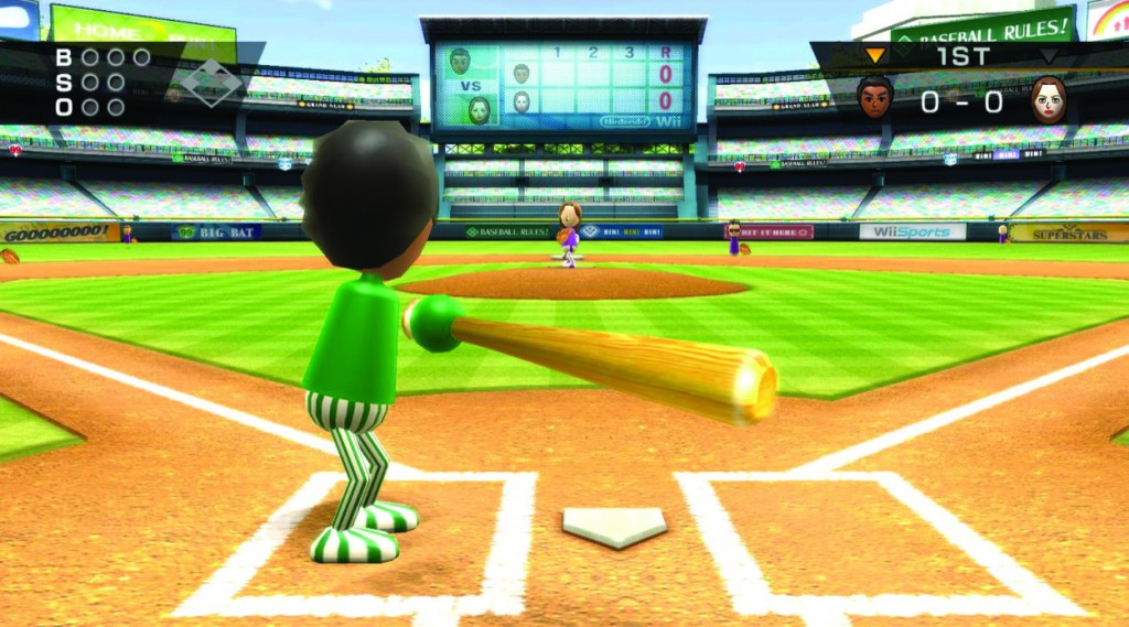 Screencap of Wii Sports
