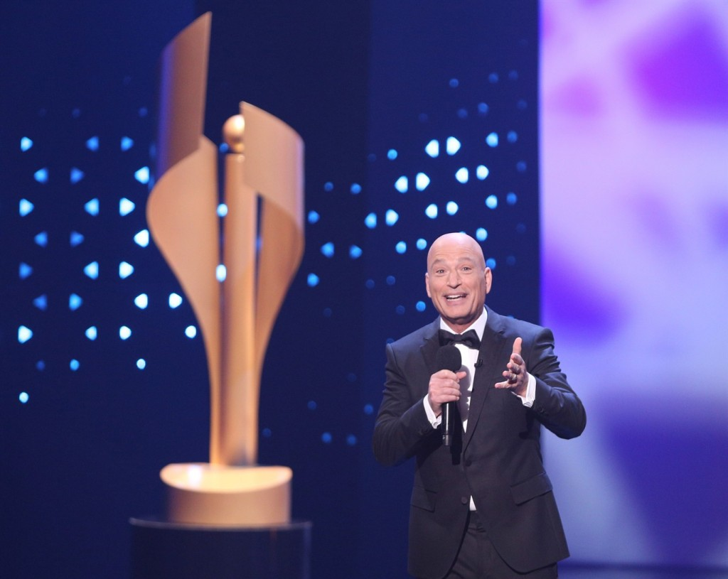 Photo of Howie Mandel at The Canadian Screen Awards via news1130.com