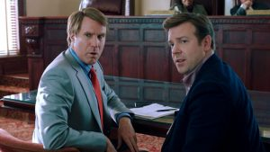 Will Ferrell and Jason Sudeikis in The Campaign via Warner Bros. Pictures