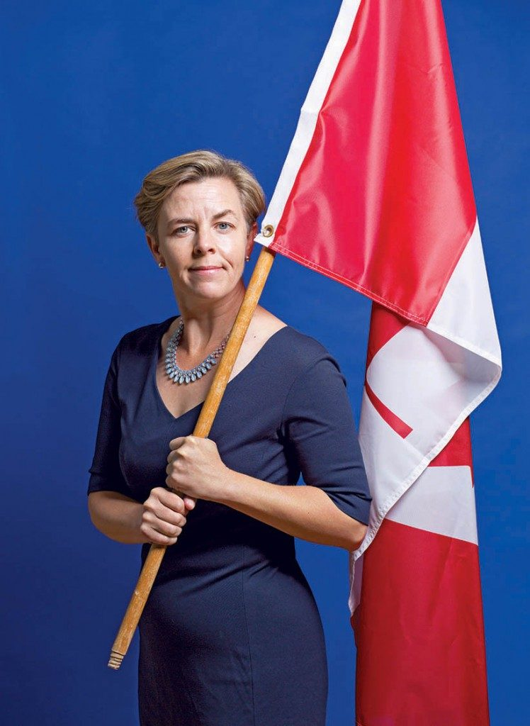 Photo of Kellie Leitch via Macleans.ca