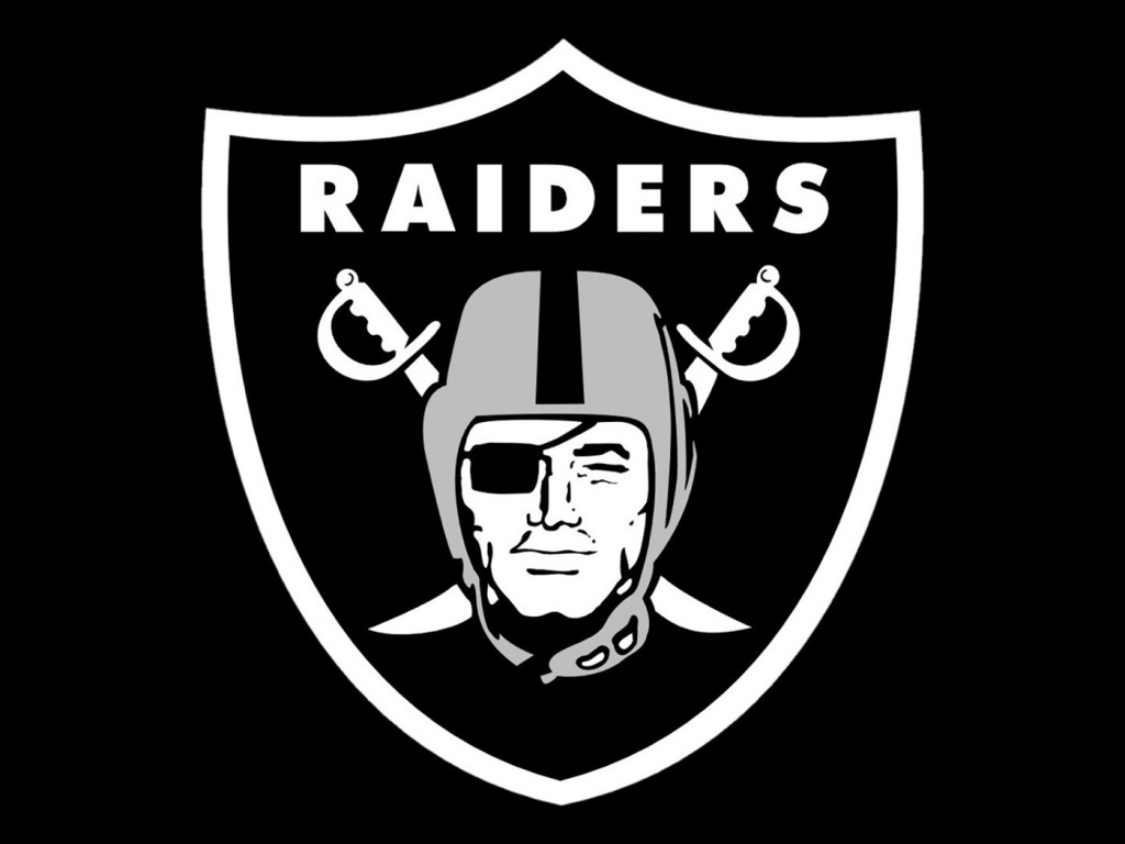 Raiders logo courtesy of NFL