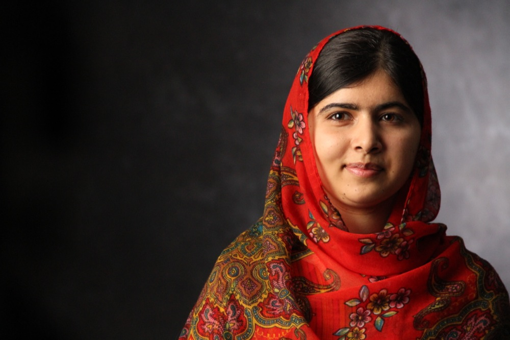 Photo of Malala Yousafzai via nutfreenerd.com