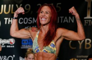 "photo of Cristiane ""Cyborg"" Justino vIa combatpress.com"