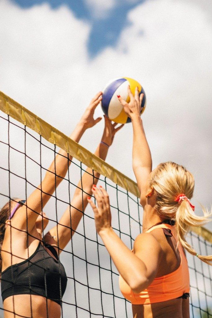 Sports_Beach volleyball