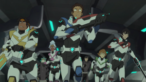 Screenshot from Voltron Season 3