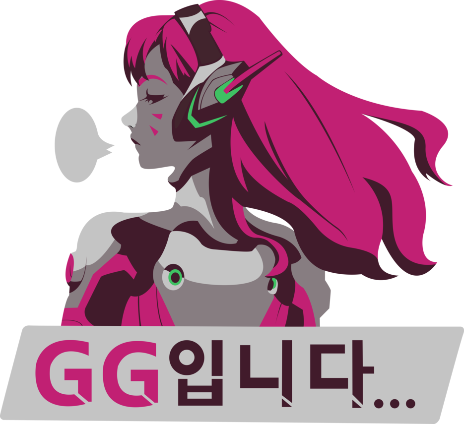 GG Spray via Overwatch Wiki