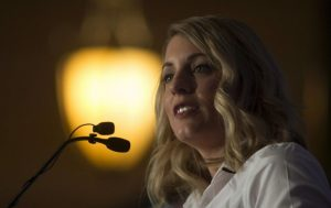 Photo of Heritage Minister Mélanie Joly by Adrian Wyld/The Canadian Press