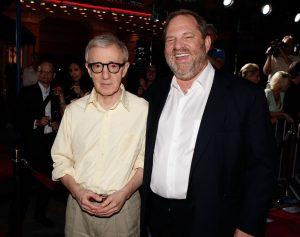 Photo of Woody Allen and Harvey Weinstein by Kevin Winter/Getty Image
