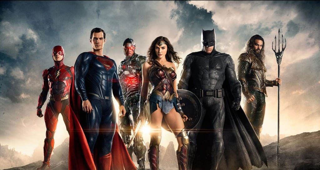 Promotional art for 'Justice League'