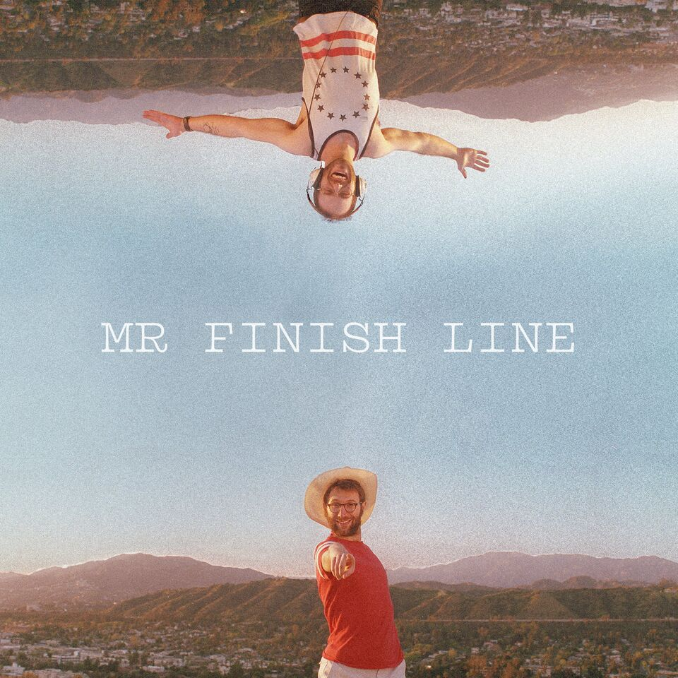 Cover of 'Mr. Finish Line'