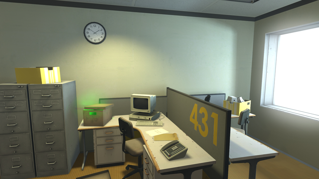 Still from 'The Stanley Parable' via theverge.com
