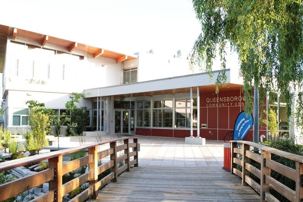 Photo of Queensborough Community Centre via The City of New Westminster
