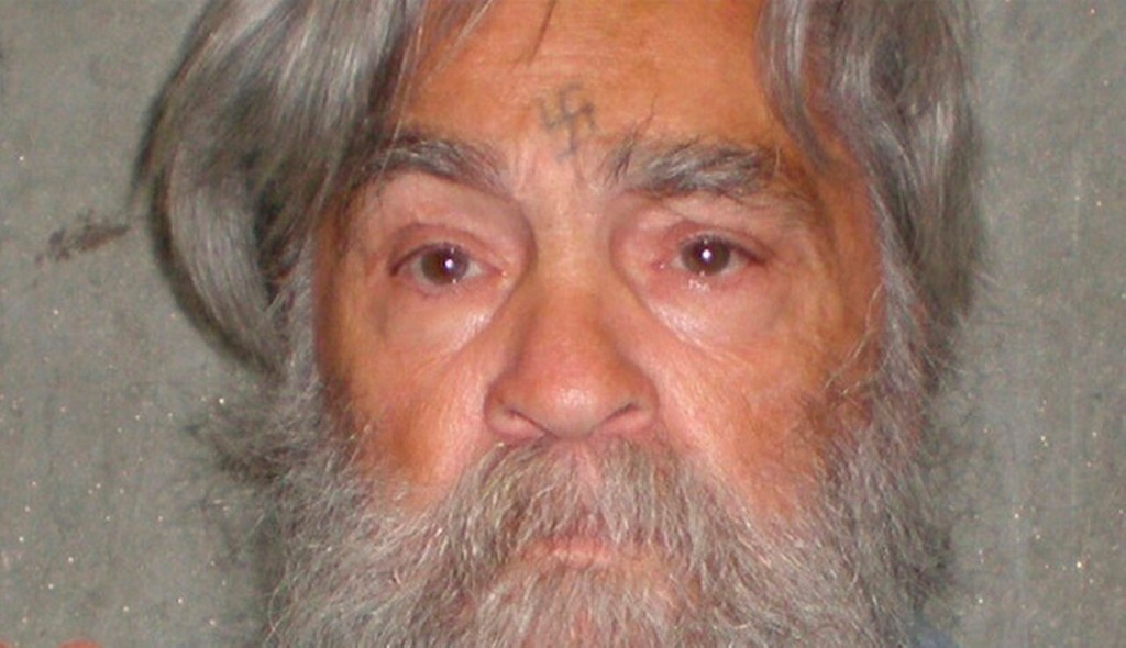 Photo of Charles Manson via the California Department of Corrections
