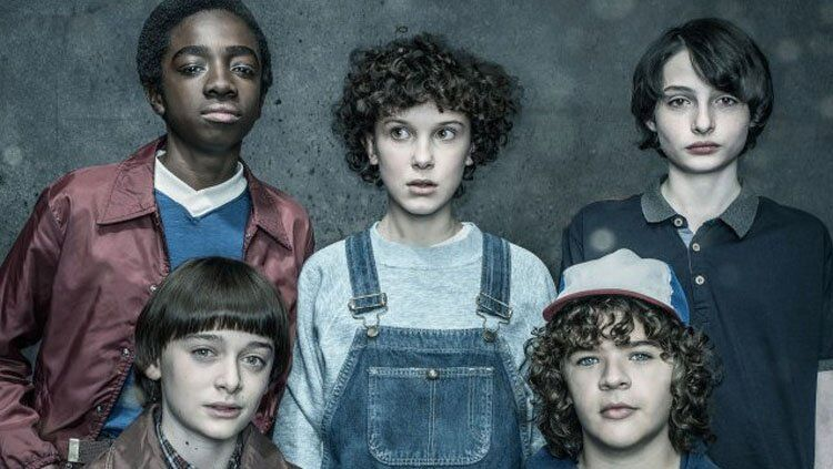 Promotional image of 'Stranger Things' via Entertainment Weekly