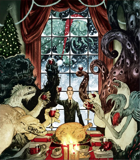 Christmas with Cthulhu and Friends' by Nelson Evergeen