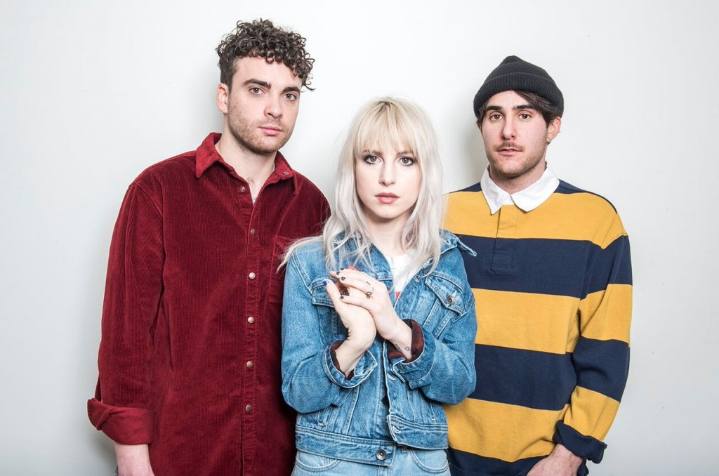 Press photo of Paramore via Billboard