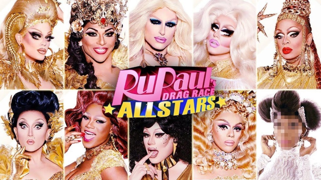 Promotional image for 'RuPaul's Drag Race: All Stars'