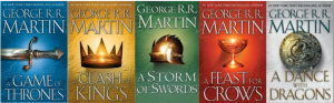 A Song of Ice and Fire' book covers