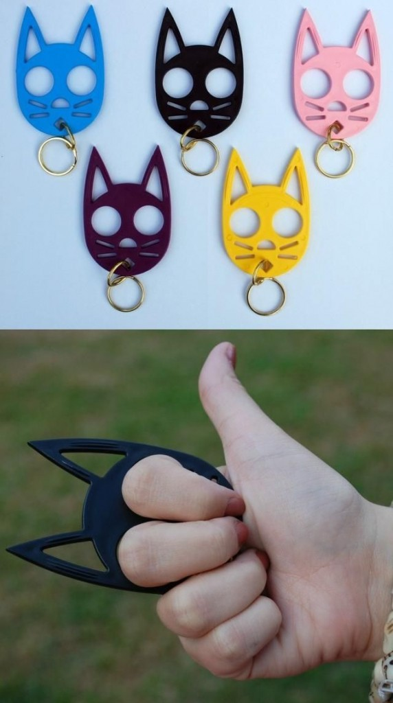 Image of Wild Kat Keychains via SelfDefenseProducts.com