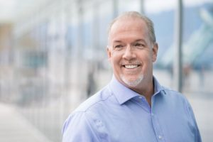 Photo of John Horgan via BC NDP Flickr