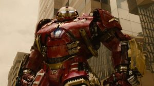 "Screenshot of 'Marvel's Avengers: Age of Ultron - ""Hulkbuster"" Clip'"