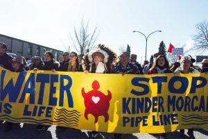 Photo via Ian Harland on Stop Kinder Morgan on Burnaby Mtn Facebook page