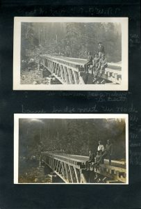 Photos of Coquitlam Dam from 'Scrapbooks - Fragile Time Capsules'