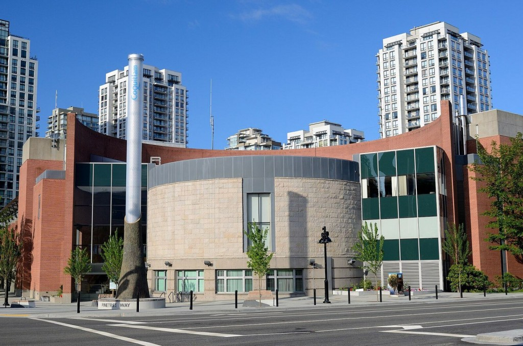 Photo of Coquitlam City Hall via Wikipedia