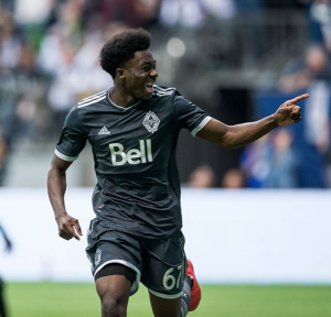 Photo of Alphonso Davies via Whitecaps Instagram